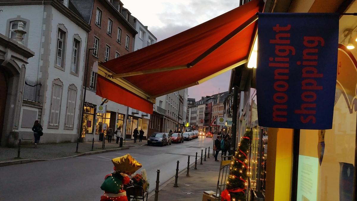 Moonlight Shopping in der Jakobstraße in Aachen