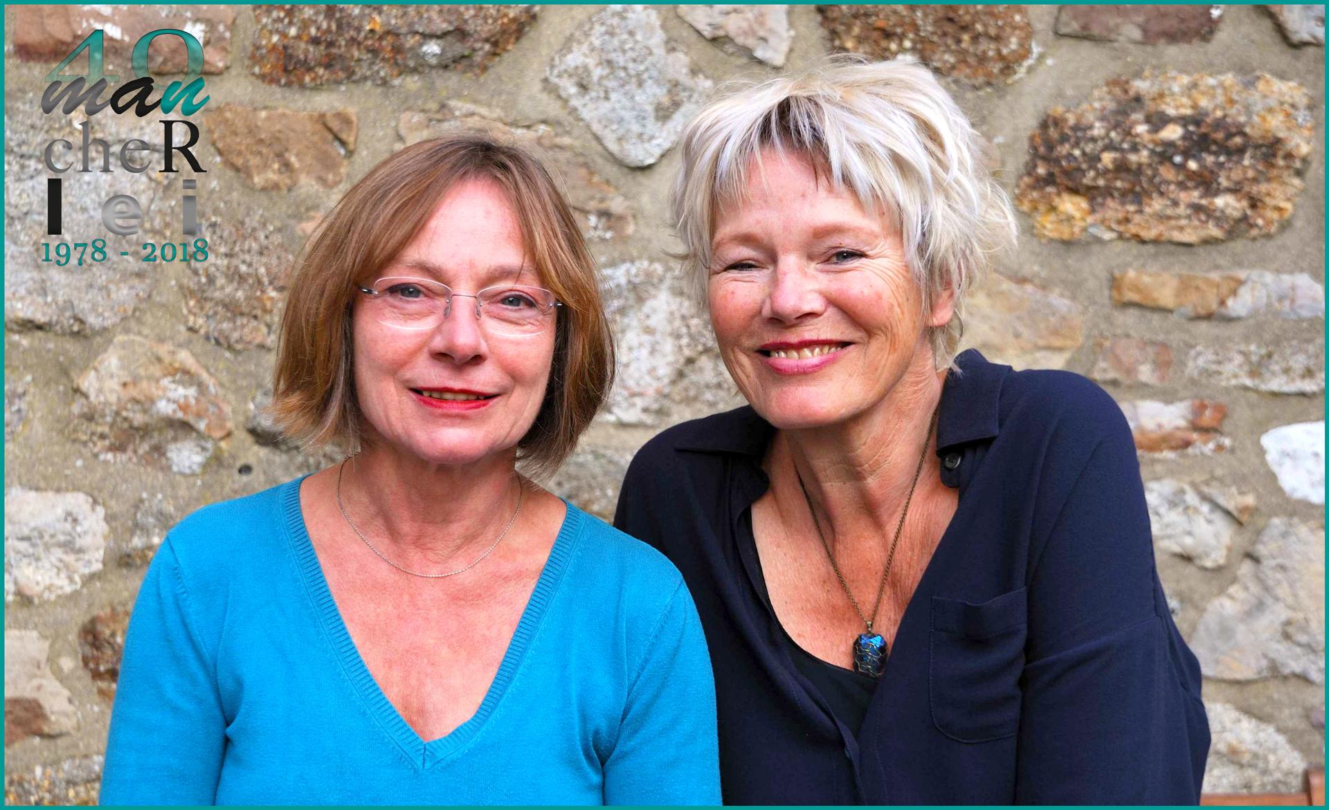 Marianne Bramme-Groetklaes (li) und Didi Eylert (re)
