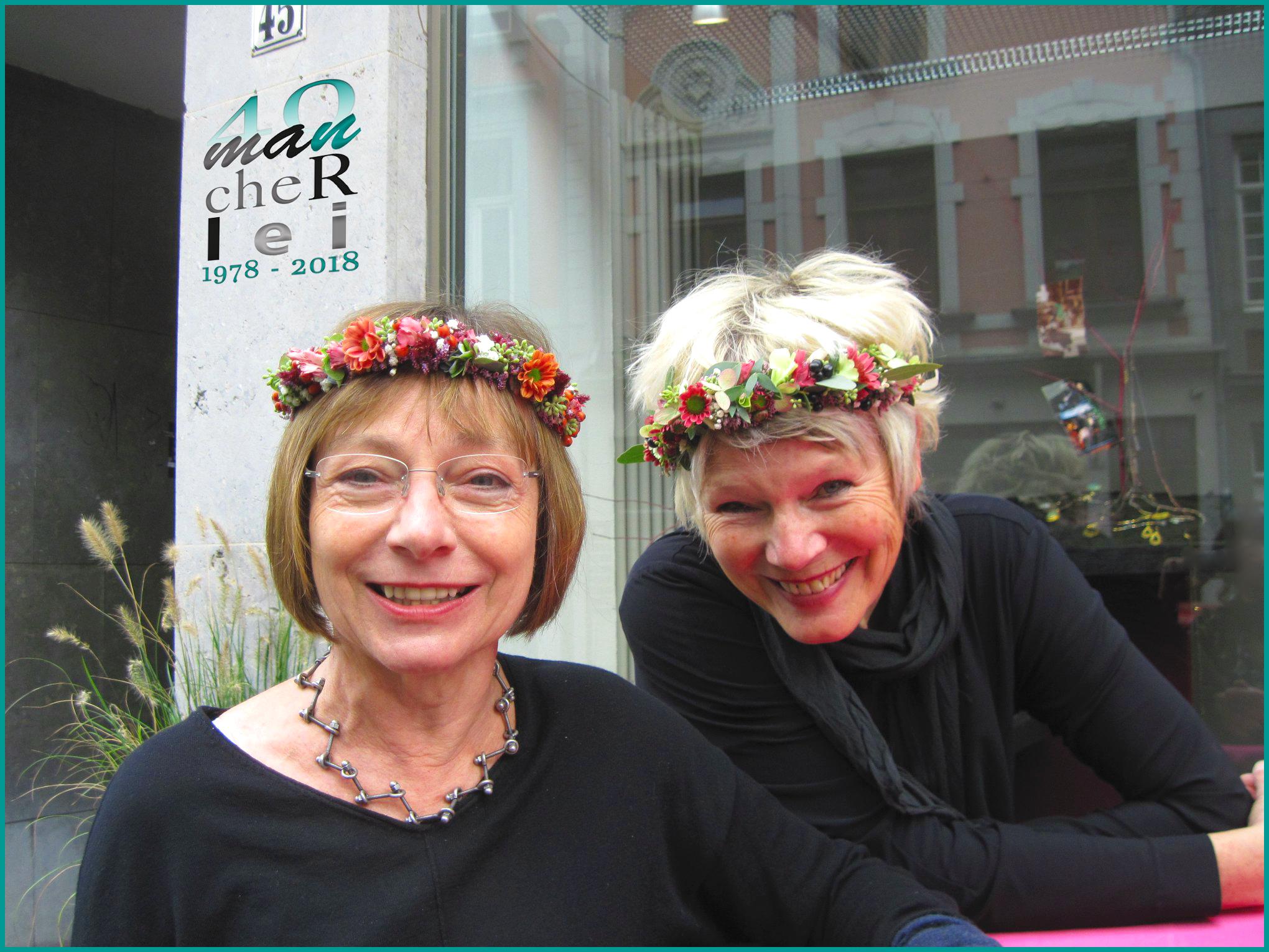 Marianne Bramme-Groetklaes und Didi Eylert